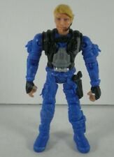 "The Corps Blue Special Forces Military Soldier 4"" Toy Action Figure Lanard"
