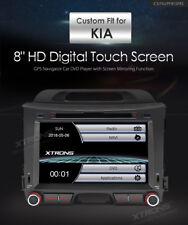 AUTORADIO KIA SPORTAGE NAVIGATORE GPS Dvd Usb Bluetooth Comandi Volante XTRONS
