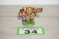 Warhammer 40k Space Marine Terminator with Lightning Claws Metal LOT 34 Painted