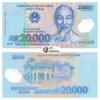 Vietnam 50000 Dong 2019 Polymer P-121n 10 Consecutive Banknotes 10 PCS UNC