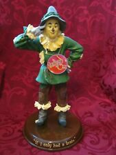 """Westland Wizard of Oz Scarecrow """" If I Only Had a Brain"""" 12in Statue"""
