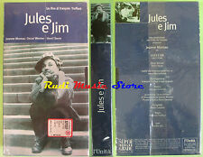 film VHS JULES E JIM cartonata SIGILLATA Truffaut L'UNITA' 103 min (F75*) no dvd