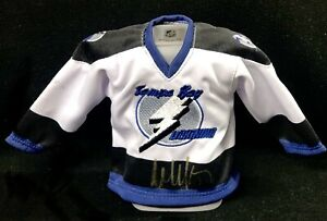 Wendel Clark Signed Tampa Bay Lightning Canada Exclusive Mini Jersey Coin Bank