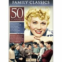 Family Classics Collection: 50 Movies DVD Box Set James Stewart