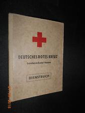 Deutsches cruz roja rdc Hessen servicio libro 1962 con imagen de luz