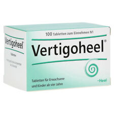 HEEL Vertigoheel 100 Tablets Homeopathic Remedies