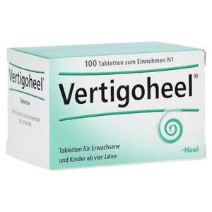 HEEL Vertigoheel 100 Tablets Homeopathic Remedies