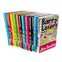 Jim Smiths Barry Loser 11 Books Collection Set keel stuff, Best at football NOT