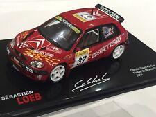 1/43 Citroen Saxo Kit Car Rally Monte Carlo 2001 Sebastien Loeb