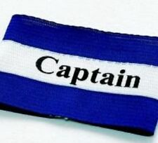 Brassard de Capitaine Rucanor 13149-14 Bleu et Blanc Taille Unique Junior