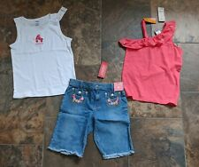 NWT Sz 10 Gymboree ICE CREAM SWEETIE PALM BEACH PARADISE FLORAL REEF Top Shorts