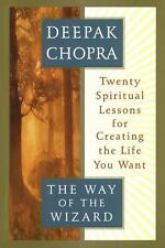 The Way of the Wizard 20 Spiritual Lessons Deepak Chopra Hardcover FREE SHIPPING