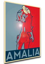 Poster Propaganda - MA0265 Wakfu - Amalia Sheran Sharm