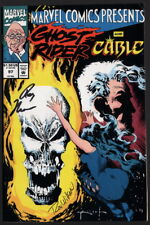 Marvel Comics Presents #97 Ghost Rider ~ SIGNED Comic by Roy Thomas & Ron Wilson