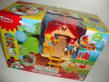 DISNEY MICKEY MOUSE CLUBHOUSE TREE HOUSE ADVENTURE WITH LIGHTS & SOUNDS PLAYSET