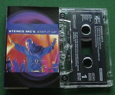 Stereo MC's Step It Up (2 Versions) Cassette Tape Single - TESTED