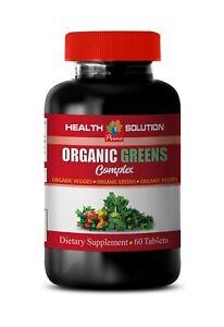 multivitamin and mineral - ORGANIC GREENS COMPLEX - natural detox blend 1B