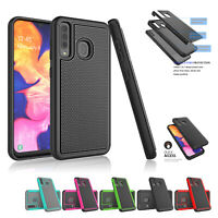For Samsung Galaxy A10e A20 A30 A50 Shockproof Hard Rugged Protective Case Cover