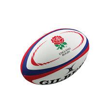 Gilbert England International Replica Rugby Ball Mini White