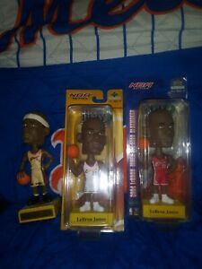 Lebron James 2003-2004 Set of 3 Bobbleheads