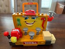 Vintage Tonka Talking Learning Workbench Sounds Animated 2000 Works!