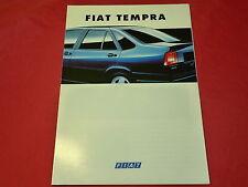 Fiat Tempra 1.4. UI 1.6 UI 1.8 UI SX SLX 2.0 UI 1.9 TD folleto de 1994