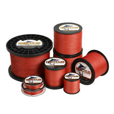 Hercules 4 8 9 12 Strands PE 6-300lbs 109-2187yds Braided Fishing Line Red Super