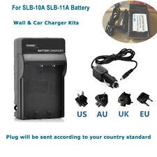 AC&DC Battery Charger for Samsung WB350F,WB800F, WB850F, WB2100 - SLB-10A