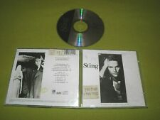 Sting - ...Nothing Like The Sun - 1989 Israeli Made CD + Hebrew Hype Sticker