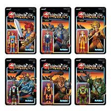 ***LOT OF 6*** Thundercats Super7 ReAction Figures Complete Wave 1 Set