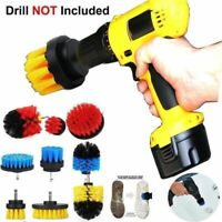 Power Scrubber Brush Set Cleaning Cordless Drill Attachment Kit Scrub Brushes