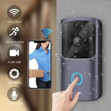 Wireless WiFi Doorbell Smart Phone Door   Intercom Security Cam Bell