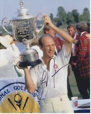 New listing Larry Nelson  8x10 Signed Photo w/ COA  Golf #2
