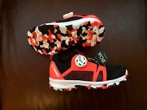 ADIDAS TERREX AGRAVIC BOA BLACK & RED KIDS WALKING / OUTDOOR SHOES UK 11.5