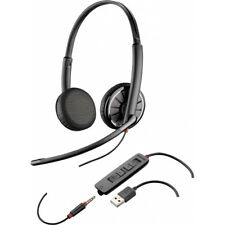 Plantronics Blackwire C325 Stereo 3.5mm & USB Corded Headset