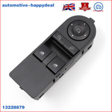 13228879 FOR Opel Vauxhall Astra H & Zafira B Front Door Electric Window Switch