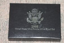 1998 Premier Silver Proof Set, Exc. Condition, Free Shipping