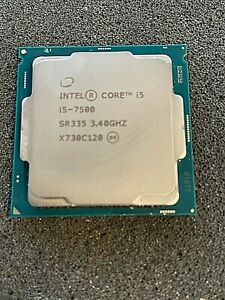 Intel core i5-7500 3.4ghz SR335 Processor