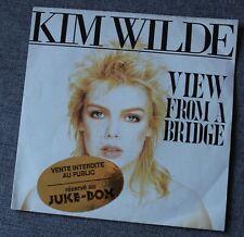 Kim Wilde, view from a bridge / take me tonight, SP - 45 tours juke box France