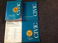 1996 1997 1998 1999 HONDA CIVIC MODELS Service Shop Repair Manual W ETM + OEM