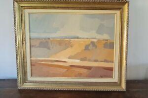 Hugh Stevenson Impressionist British South African Landscape Painting Large