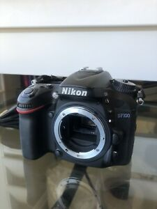 Nikon D7100 24.1 MP Digital SLR Camera - Black (Body Only) - Good ++ WS