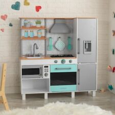 Kidkraft Gourmet Chef Play Kitchen with EZ Kraft Assembly™ | Kids Wooden Play