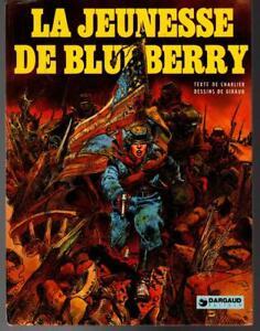 French Graphic Novel MOEBIUS La Jeunesse de Blueberry
