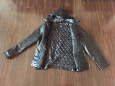 Mens Italian Leather Jacket, Black Size XL,Emporio & Co.