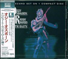 OZZY OSBOURNE RANDY RHOADS TRIBUTE CD - 2013 JAPAN RMST Blu-Spec CD2 - PERFECT