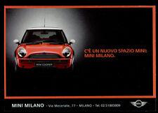 cartolina pubblicitaria PROMOCARD n.3652 MINI MILANO AUTOMOBILE