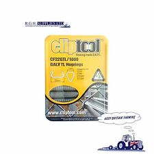 CF22 Galvanised Triple Life Hog Ring Clips 1000/box - FCA Approved - Many Uses