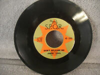 "Jimmy Soul, If You Wanna Be Happy, S.P.Q.R. 45-3305, 1963, SOUL, 7"" 45 RPM"