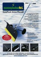 *SALE* Hand Operated Easy Push Snow Plough / Leaves RRP £165